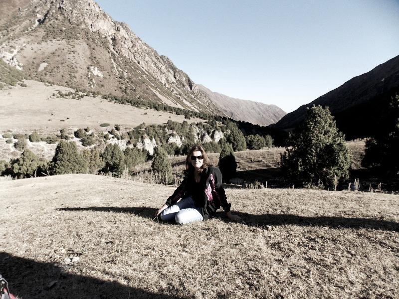 моё фото в горах