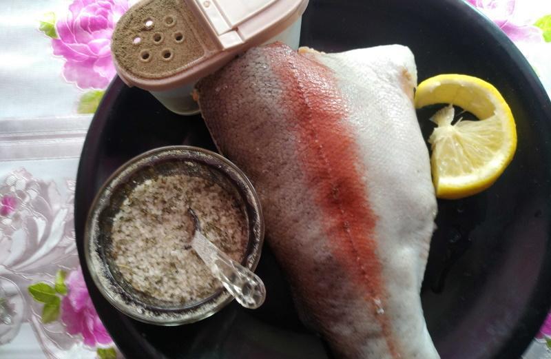 Форель запеченная в духовке продукты